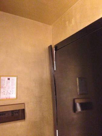 Villa Del Bosco Hotel: stanza 326 cornice della porta