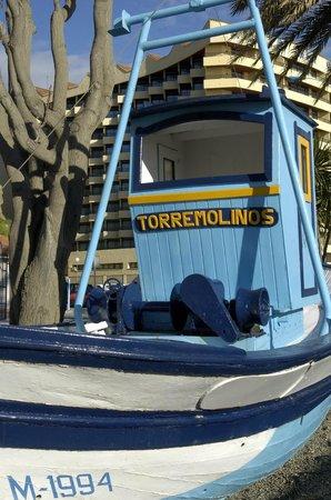 Playa La Carihuela: Das Torremolinos Boot