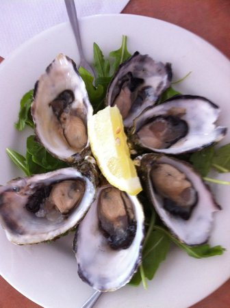 Noosa Yacht and Rowing Club: Coffin Bay Oysters