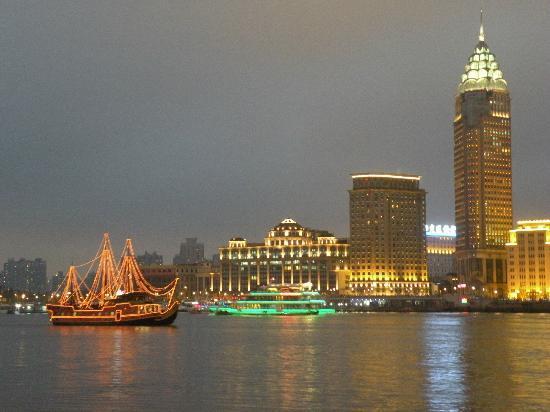 Riverside Promenade (Bingjiang Da Dao): Vue sur le Bund 4