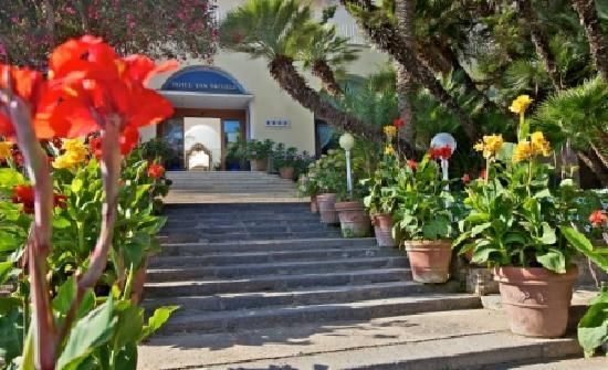 Hotel San Michele: ingresso scala ottocentesca