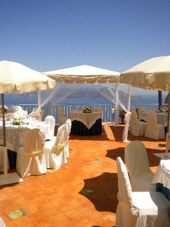 Hotel San Michele: allestimento per wedding party