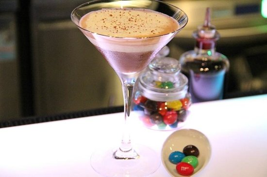 Water Library Chamchuri : M&M's in a cocktail...sounds strange, but it was delicious!