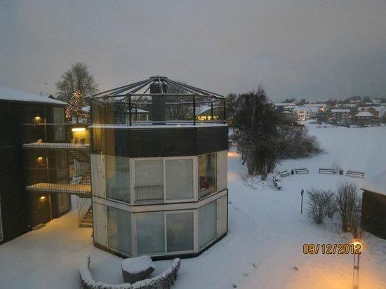 Kolding Hotel Apartments: Vy från rummet
