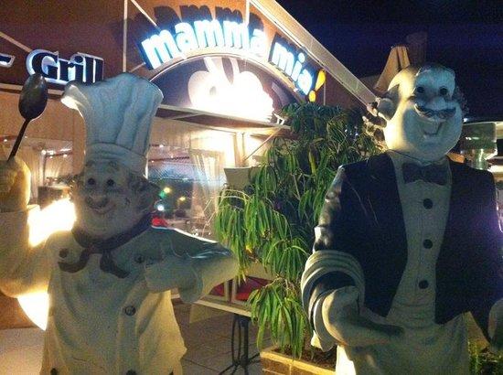 Restaurante Mamma Mia! : Buen ambiente