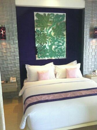 Grand Mega Resort & Spa: the lovely bed