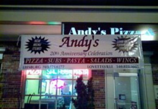 Andy's Pizza Take Out