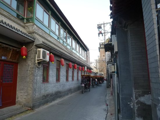 City Inn (Beijing Happy Valley): Hutong Rickshaw ride