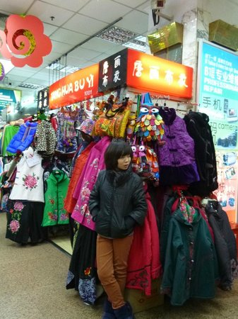 City Inn (Beijing Happy Valley): Ya Xiu market stall