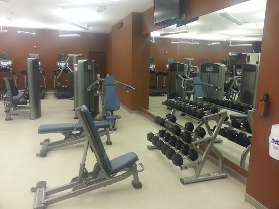 Courtyard by Marriott Mexico City Airport: gym