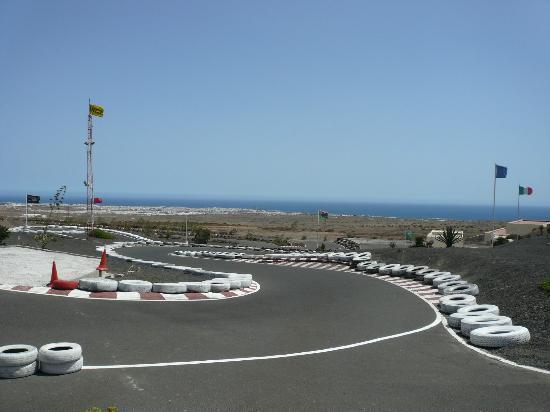 Go Karting San Bartolome: Fabulous Views