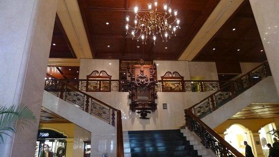 Grand Lapa Macau: Very nice lobby (old world)