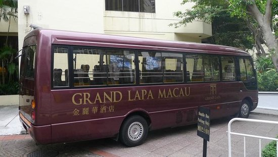 Grand Lapa Macau: Free shuttle bus to ferry terminal