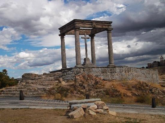 Άβιλα, Ισπανία: Los quatro postes
