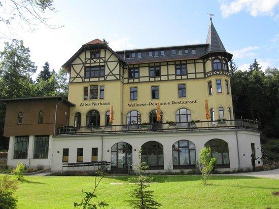 Altes Kurhaus Lueckendorf: Aussenansicht
