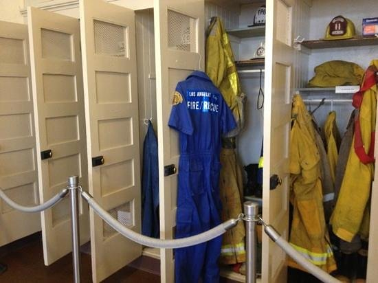 LAFD Historical Society and Museum: clothes