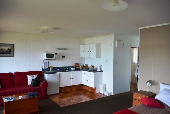 Harbour View Motel : Great kitchenette