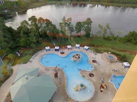 Wyndham Lake Buena Vista Disney Springs Resort Area: View from hallway window