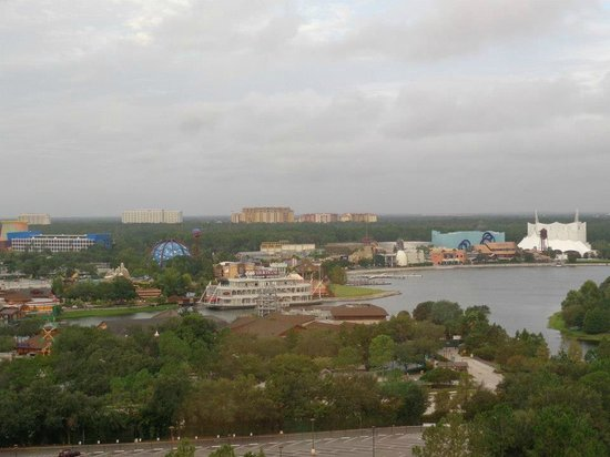 Wyndham Lake Buena Vista Disney Springs Resort Area: View of Downtown Disney from room