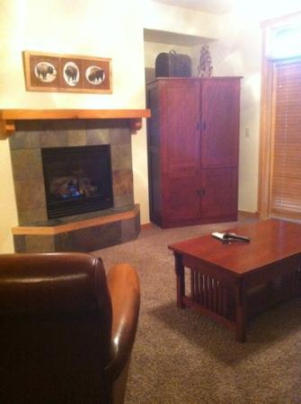 Grand Timber Lodge: living room