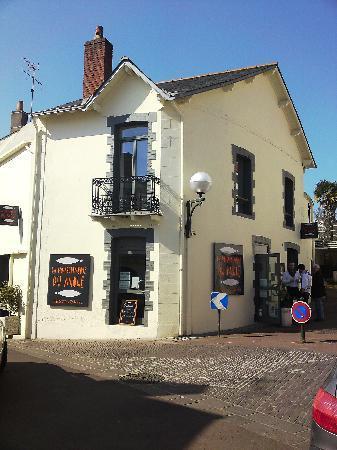 Pornic, Frankrike: Restaurant la Poissonnerie du Môle