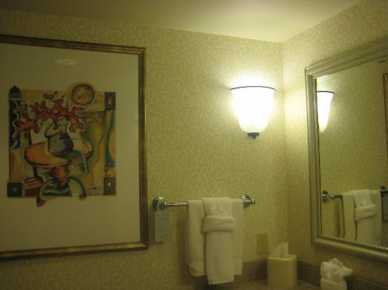 Hilton Garden Inn - West Lafayette: Bathroom