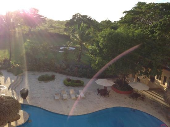 The Palace at Playa Grande: view from balcony