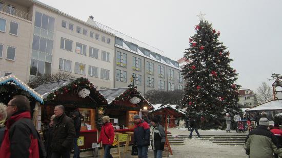 Altstadt Spandau: auf dem Platz