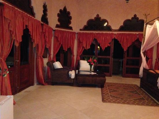 The Palace at Playa Grande: the big room