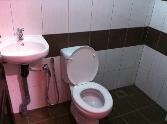 Nipah Bay Villa: The toilet
