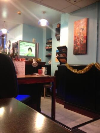 Quantum Web Cafe: inside