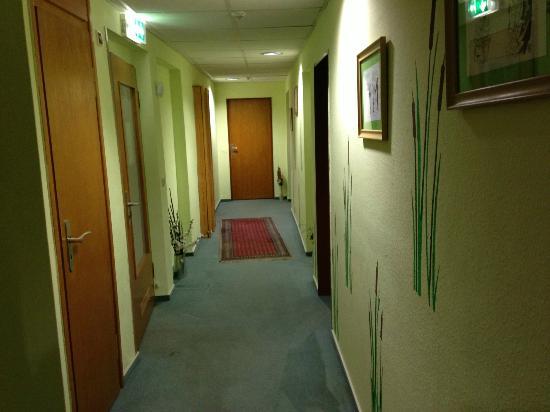 Hotel Kaiserhof: corridoio
