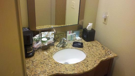 Hampton Inn Burlington: Bathroom