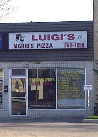Luigi's 2 For 1 Pizza