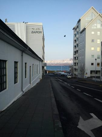 Fosshotel Baron: View of the rear of the hotel