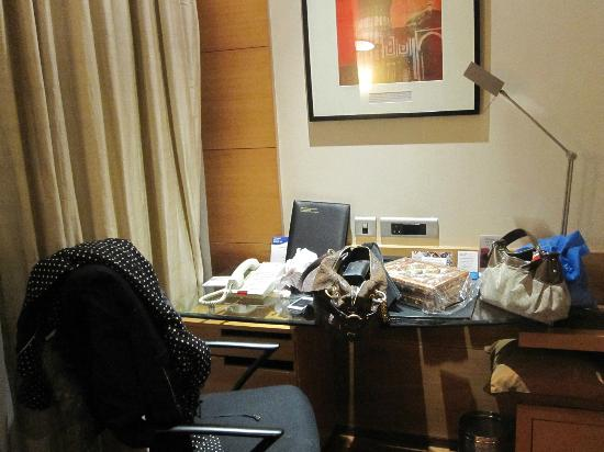 Radisson Blu Marina Connaught Place: sorry about the mess!