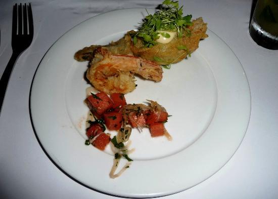 InContro: 1 prawn + 1 french cutlet