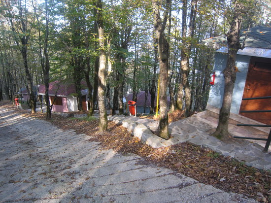 Ramsar Cable Car: Cottages