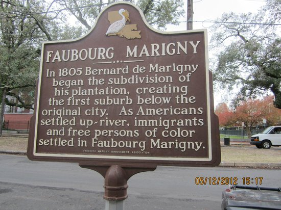 La Maison Marigny B&B on Bourbon: History