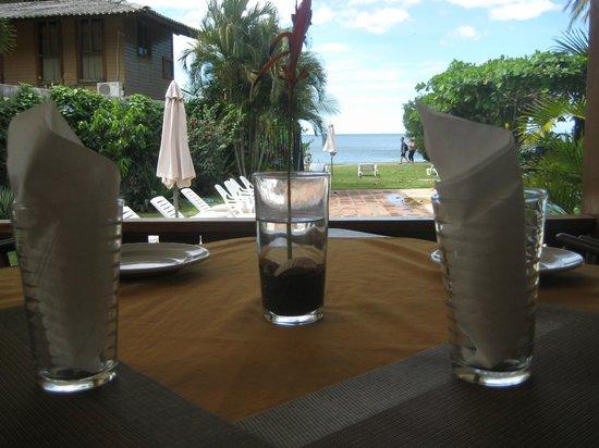 Sabor Mediterraneo: Vista desde el Restaurante