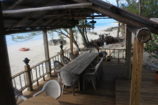 Pigeon Cay Beach Club: Dining area