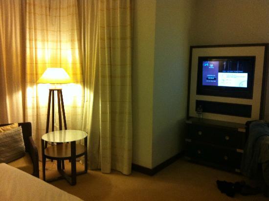 Sheraton Sopot Hotel : tv area