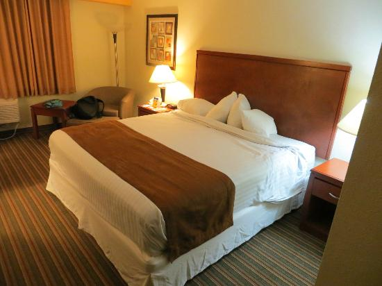 Airport Plaza Inn & Conference Center: Bedroom