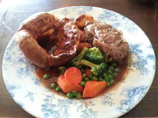 The Green Man Inn: Nicely presented and cooked - but pricey and on cold plates!