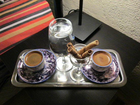 Karadut Cave Hotel: Turkish Coffee From the Owner