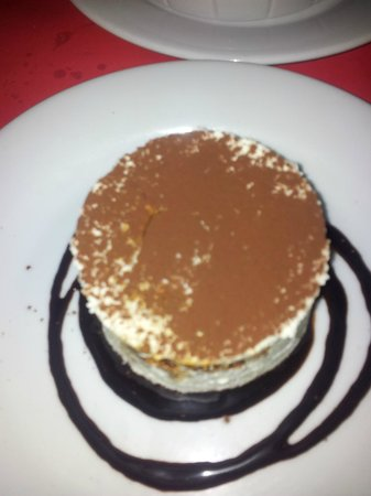 le petit villiers: Dessert (mascarpone cheese cake)