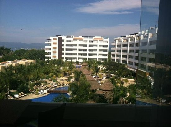 Marival Residences Luxury Resort Nuevo Vallarta: This is considered their 4th Floor Luxury 'Ocean-View'