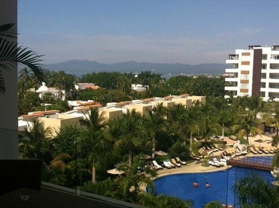 Marival Residences Luxury Resort Nuevo Vallarta: This is considered their 4th Floor Luxury 'Ocean View'