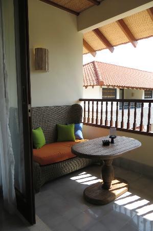 Sudamala Suites & Villas: Deluxe Suite Balcony
