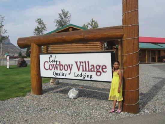 Cody Cowboy Village: Entrance